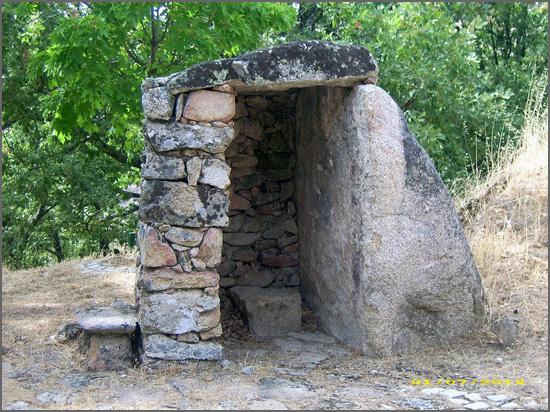 Abrigo dos pastores na serra (reconstituição por João Paulo Reis)