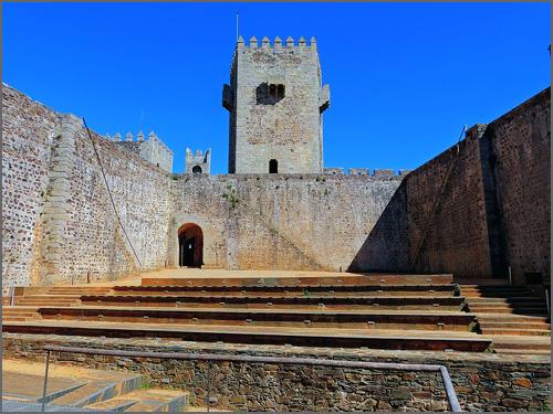 Interior do Castelo do Sabugal