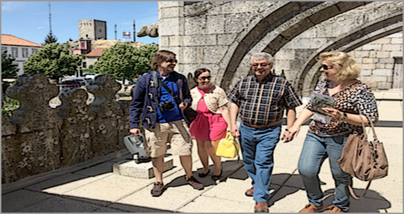 Na Guarda o número de turistas portugueses e espanhóis continua a aumentar