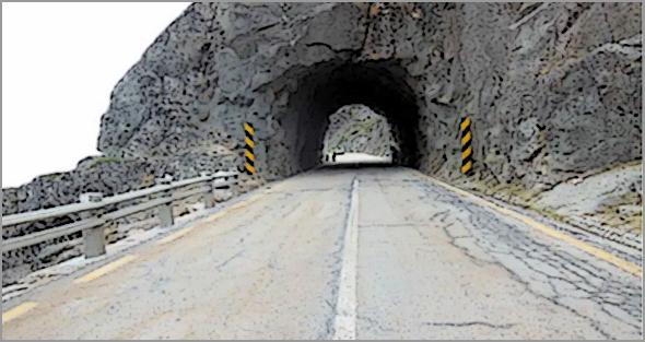 Manteigas - Reabilitação do túnel rodoviário na Serra da Estrela