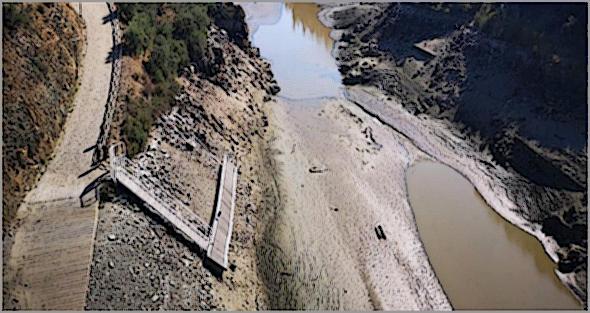 Na Beira Interior há rios que estão por um fio