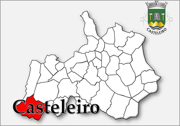 Limites da freguesia do Casteleiro no concelho do Sabugal