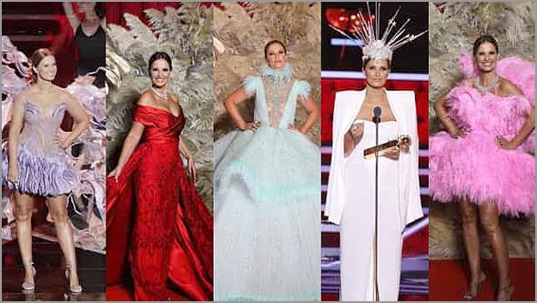 Os vestidos de Cristina Ferreira na apresentação dos Globos de Ouro