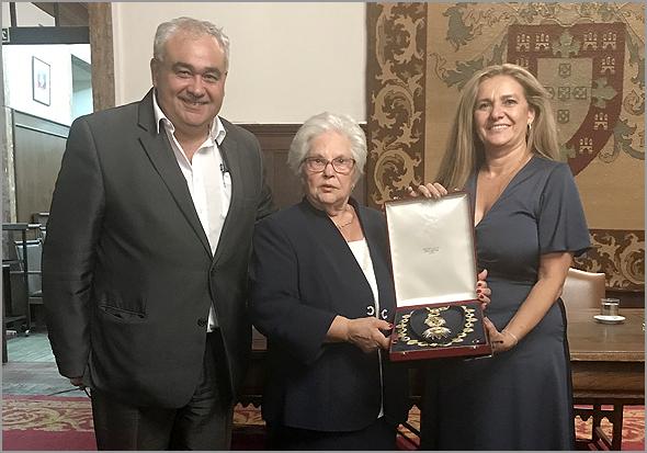 José Carlos Lages, Dona Judite e Ana Paula Sousa