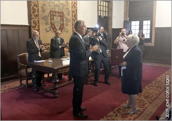 Aplauso para Dona Judite da Conceição Santos, viúva de Jesué Pinharanda Gomes