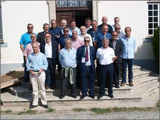 O grupo de ex-seminaristas
