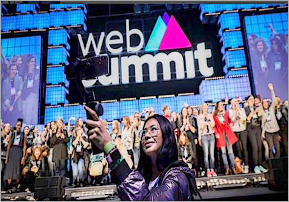 4 a 7 de Novembro - Web Summit Lisboa 2019: 70 mil participantes