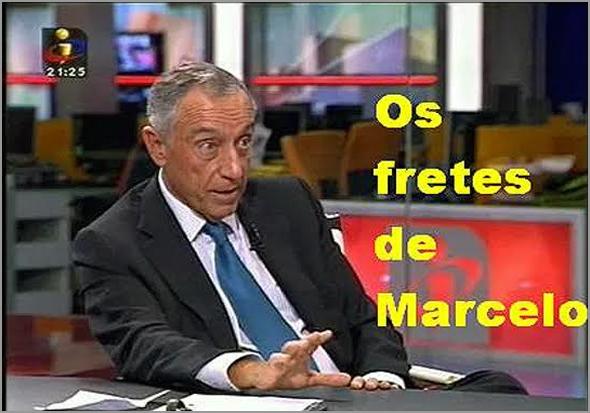 Os fretes de Marcelo Rebelo de Sousa