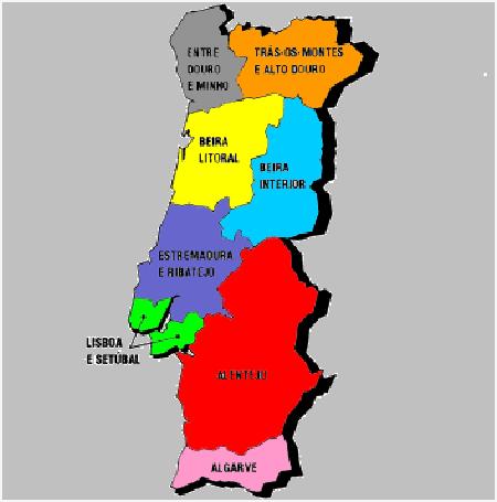 Um possível mapa da regionalização
