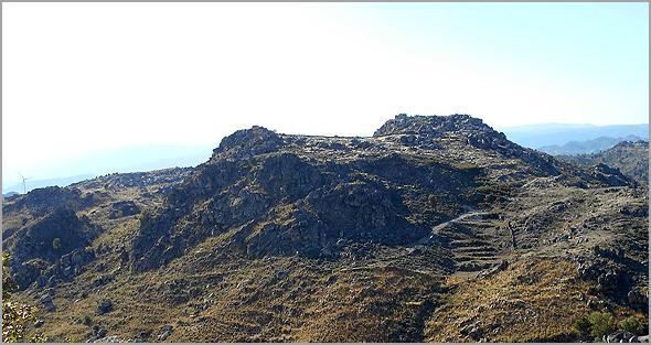 A Serra Gorda em  Águas Belas, concelho do Sabugal