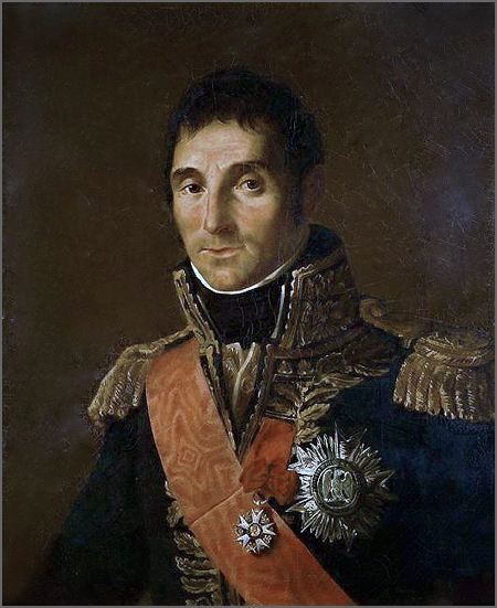 André Massena (1758-1817): comandou a terceira invasão durante a Guerra Peninsular