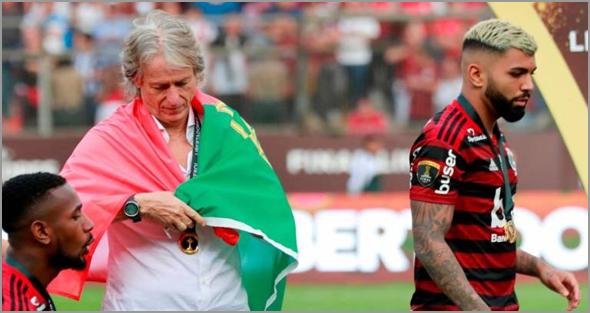 Jorge Jesus vai ficar na história do Clube de Regatas do Flamengo