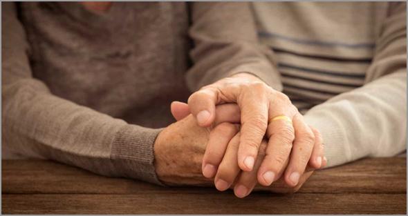Amor e companheirismo até ao último dia