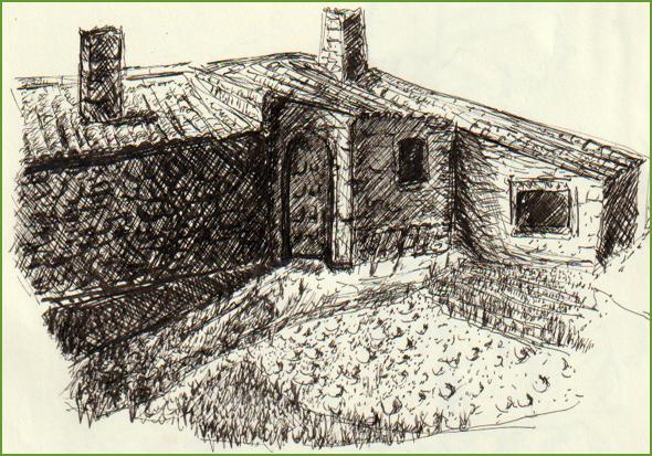 Santa Casa da Misericórdia de Sortelha, ilustração de José Serpa - 2019 (publicada em 16/02/2019)