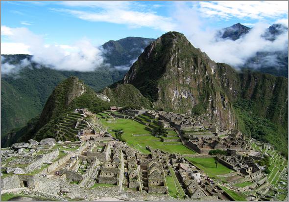 Machu Pichu no Perú