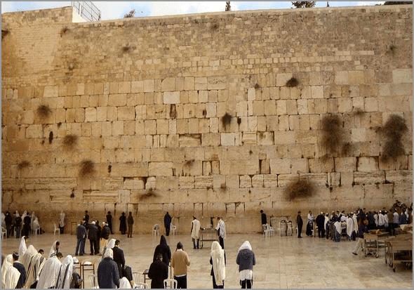 Muro das Lamentações de Jerusalém, em Israel