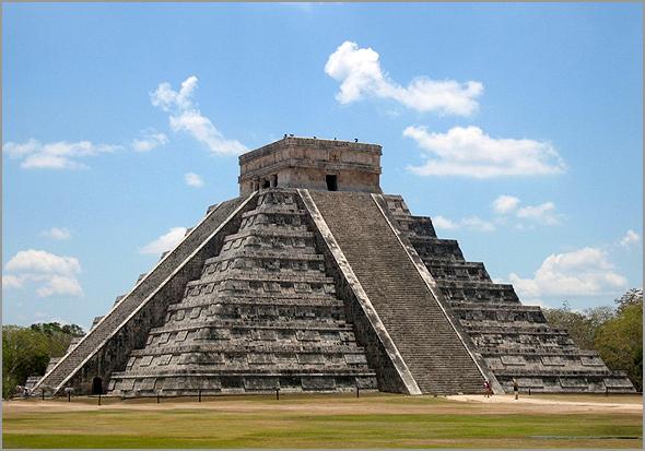 Templo de Chichen Iza em Cancun no México