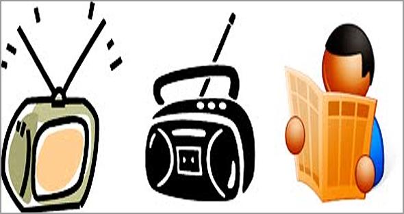 Jornais, rádios, TVs e net: as principais fontes da nossa informação