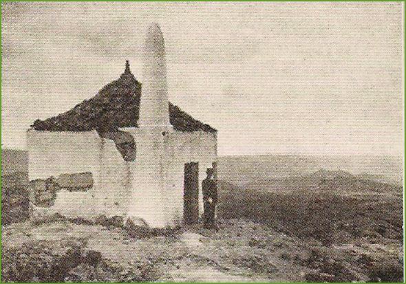 Aspecto da capela de São Cornélio nos anos 40