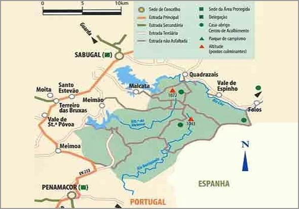 Território da Reserva Nacional da Serra da Malcata