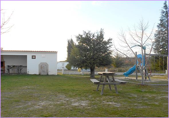 Parque Infantil e Parque de Merendas na freguesia de Águas Belas