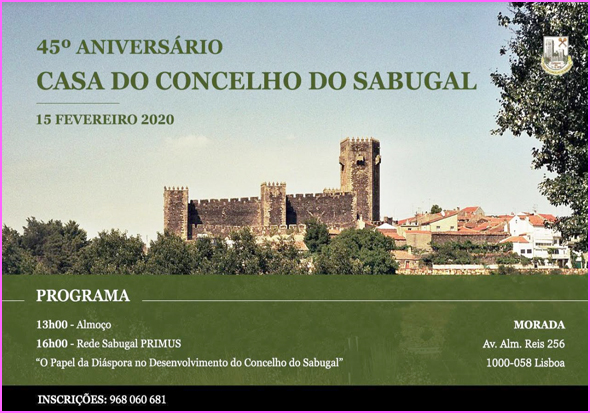 45.º Aniversário da Casa do Concelho do Sabugal
