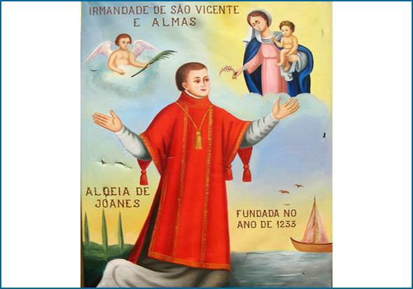 Irmandade de São Vicente e Almas da Aldeia de Joanes fundada no ano de 1233
