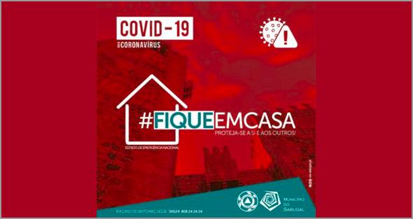 Fique em Casa - Quarentena - Câmara Municipal do Sabugal