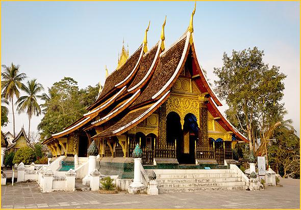 Wat Xieng Thong em Luang Prabang