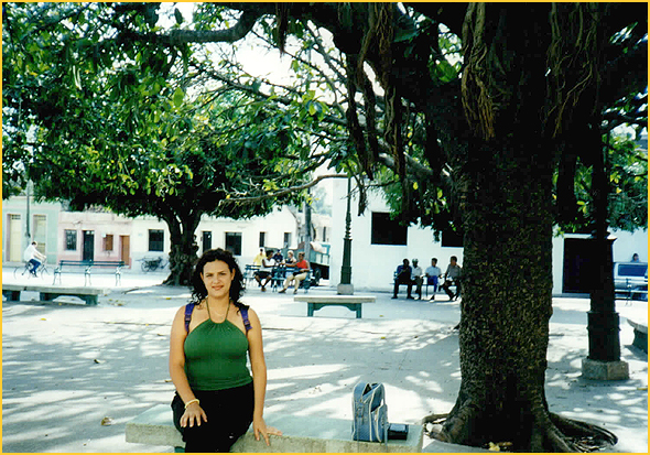 Yudisney num parque de Sancti Spiritus