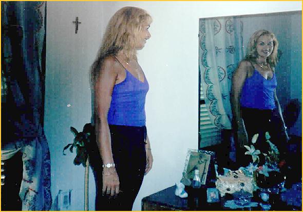 A Amélia no quarto da Edelsa