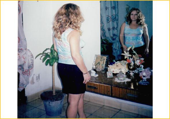 A Cristina no quarto da Edelsa