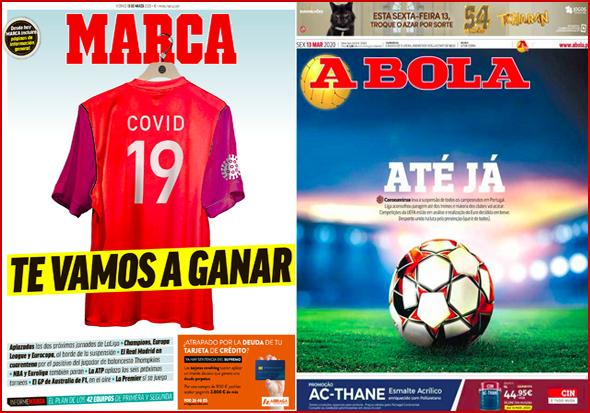 A Marca e A Bola - Duas referências mundiais em jornalismo desportivo