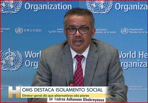 Tedros Adhanom Ghebreyesus, director-geral da OMS, não tem um cargo fácil nos dias que correm