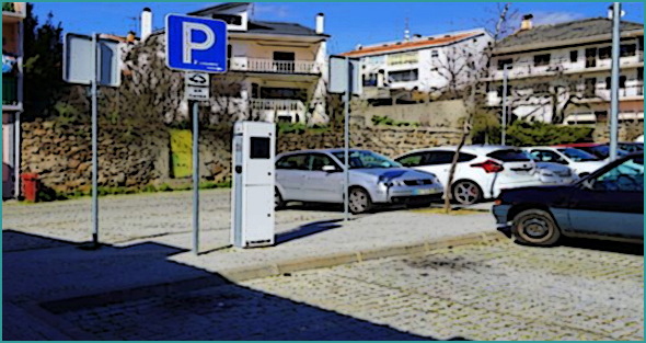 Posto de carregamento para veículos eléctricos no Sabugal