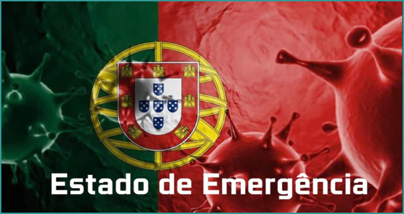 Decretado por 15 dias renováveis o estado de emergência em Portugal