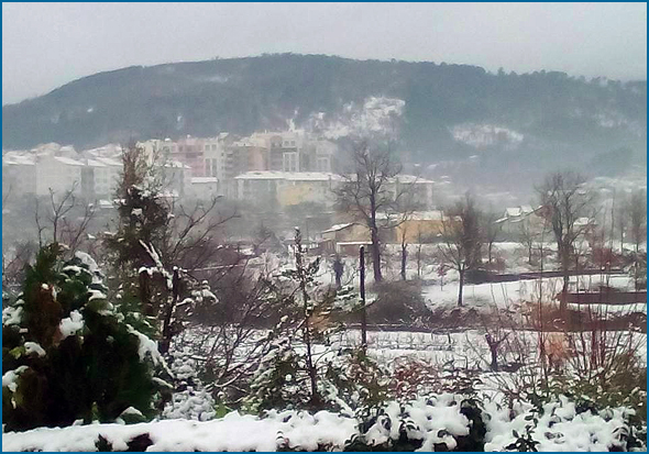 Nevão na Serra da Estrela
