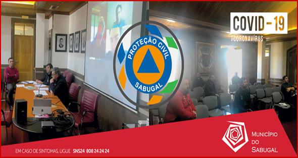 Reunião da Comissão de Protecção Civil do Sabugal (Foto: C.M. Sabugal)