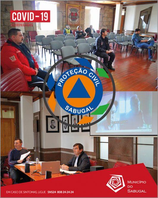 Comissão Municipal da Proteção Civil do Sabugal