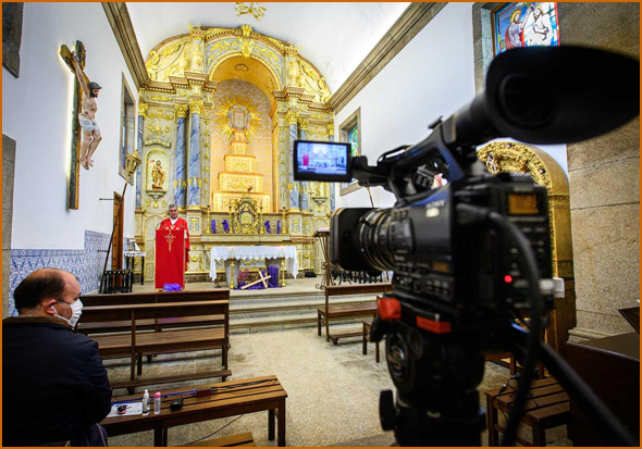 Páscoa cristã sem fiéis na igreja vai ser transmitida na internet