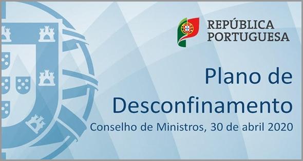 Plano de Desconfinamento - Conselho de Ministros de 30 de Abril de 2020