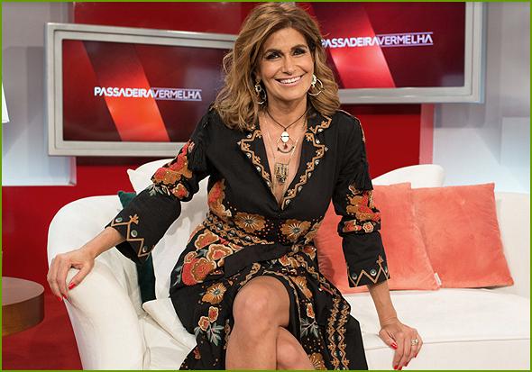 Liliana Aguiar, a apresentadora de Passadeira Vermelha
