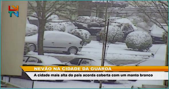 Guarda sob nevão: a reportagem