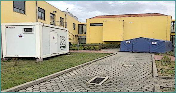 Pinhel: hospital de campanha