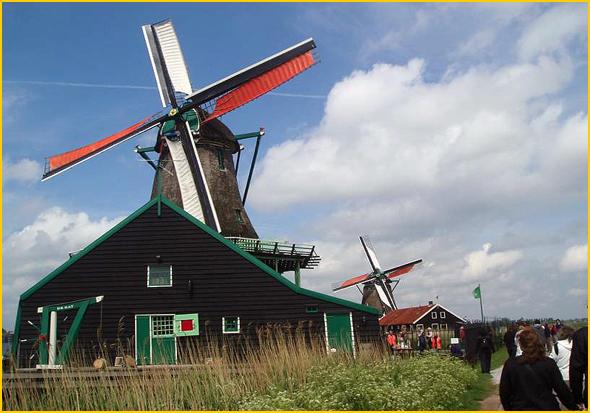 A Holanda pode desparecer com a subida do nível do mar