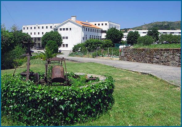 Escola Apostólica de Cristo Rei, situada na encosta do Farvão, em Gouveia