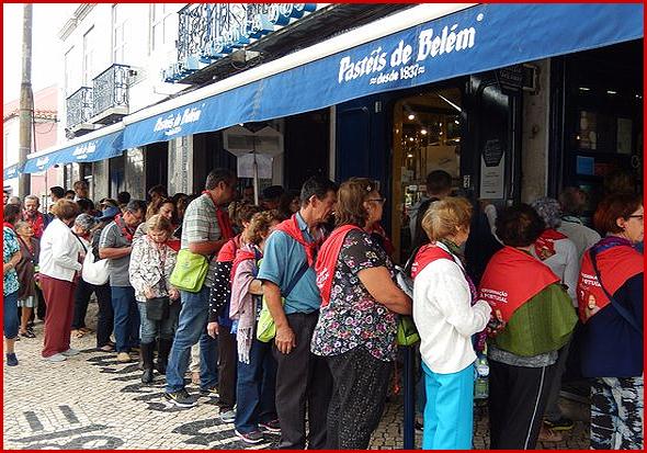 Nos Pastéis de Belém, em Lisboa, a fila vai passar a ocupar muitos mais metros de passeio
