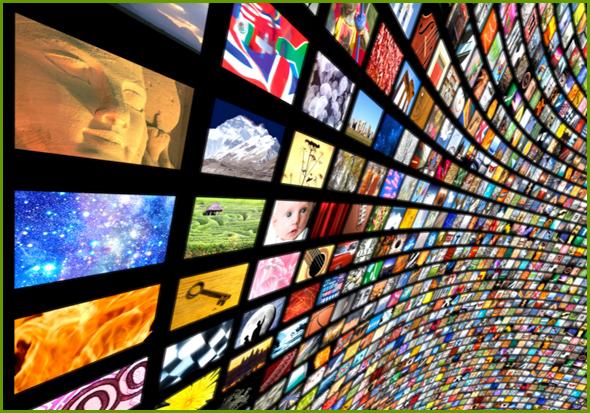 Mais de 100 canais cabo totalizam apenas 35% - não é muito...