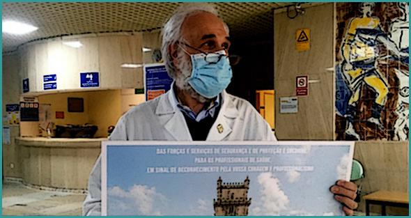 Dr. João Casteleiro, presidente do CA do Centro Hospital, agradeceu o apoio