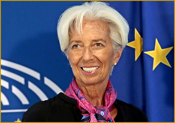 Christine Lagarde - Presidente do Banco Central Europeu (BCE)